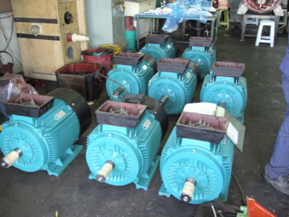 Supply, Testing & Deliver New GEF AC Squirrel Cage Motor